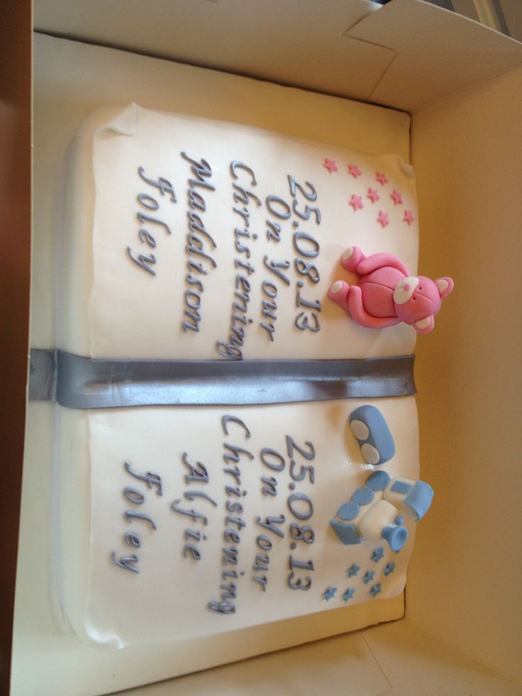 Christening Cake Book Design : Pin Christening Open Book Bible Cake My Son S Baptism ...