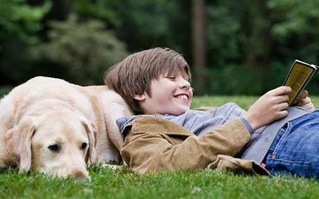 #SummerReading Program is good for both your Therapy Dog and your child!  They both learn and achieve a goal.