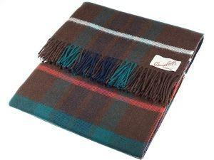 Fraser Tartan Lambswool Blanket