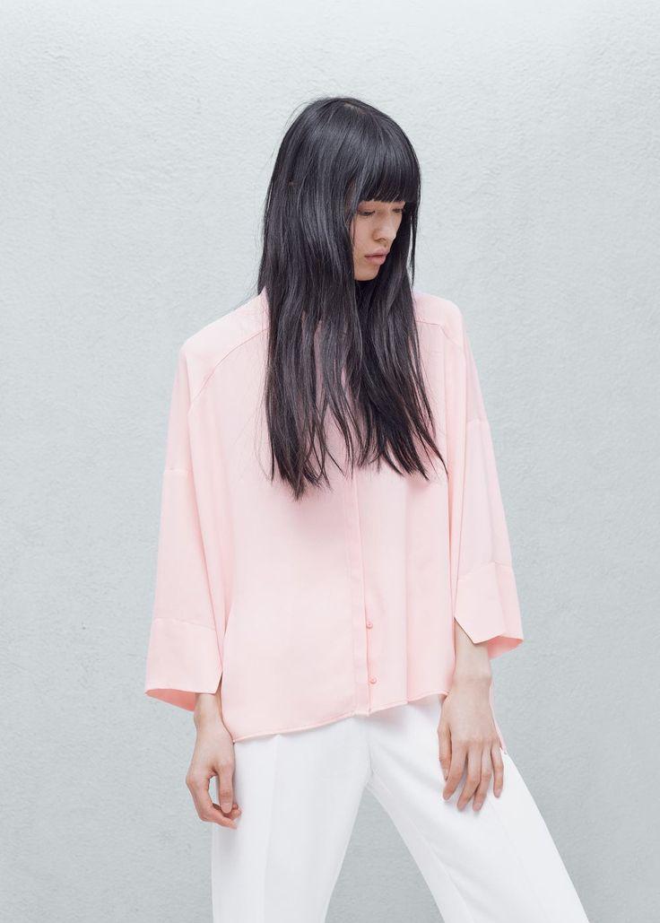 Camisa fluida - Camisas de Mulher | OUTLET Portugal