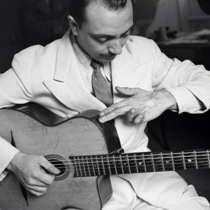 django reinhardt Check out django reinhardt's gear and equipment including the epiphone zephyr #3442, gretsch electromatic 400, and 1937-1939 levin de luxe.