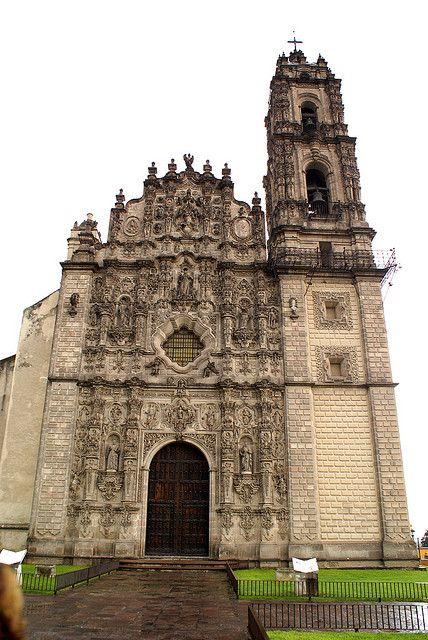 Tepotzotlán, Estado de México. México Julio del 2008 Iglesia Tepotzotlán