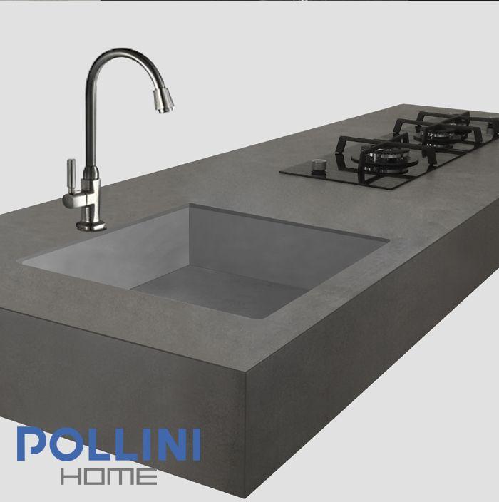 #minimal #ceramic #kitchen top Top da #cucina in #ceramica