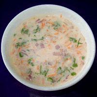 Onion Carrot Raita, Recipe from givoli.com
