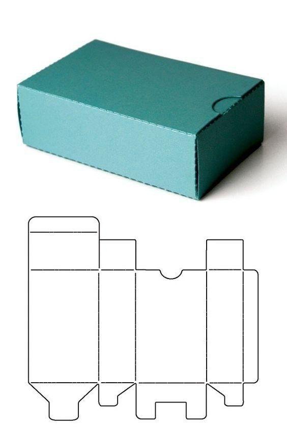 Шаблоны для создания оригинальных подарочных коробочек