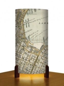 Wellington Central Map – Table Lamp | Design Withdrawals