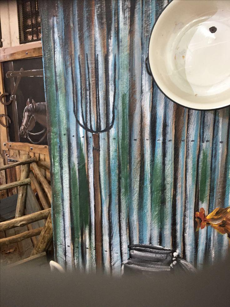 Painted sheeting IRON ART
