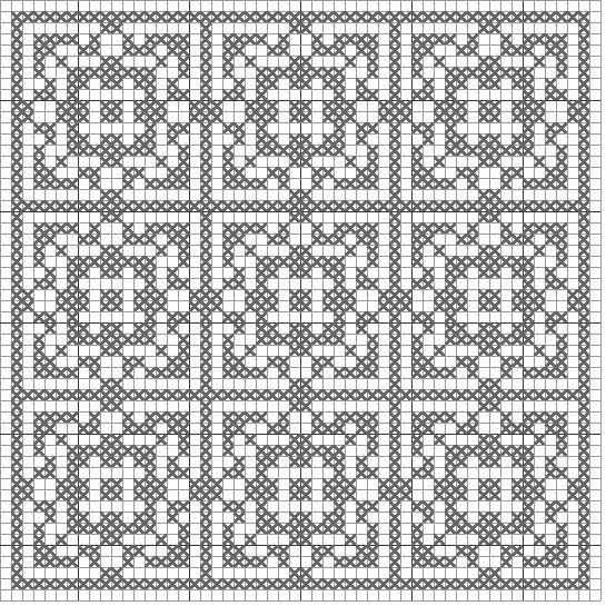 SMART CROCHET - free crochet patterns filet