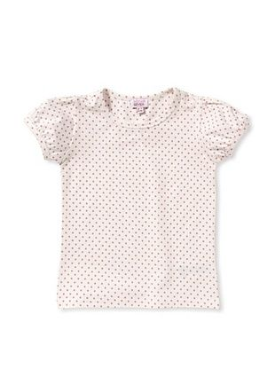 49% OFF Room 7 Girl's Tjikke Tee (White Pink Dot)