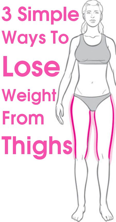 Thigh weight is a cause of concern for many, especially women. Most American women have pear shaped bodies and often struggle to lose weight from their thighs. They end up feeling depressed when jeans/trousers fit them oddly. Wearing short dresses often becomes an embarrassing problem. And the resounding question is that tips to lose weight in your thighs? 3 Simple Ways To Lose Weight From Thighs