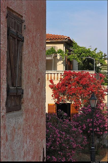 House in Aegina, Greece