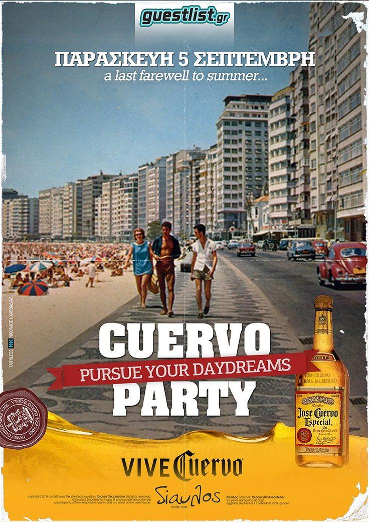 cuervo party event poster fb.com/fnk.creative