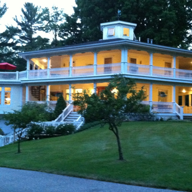 Hexagon house bed and breakfast in pent water mi very for 3 4 houses in michigan