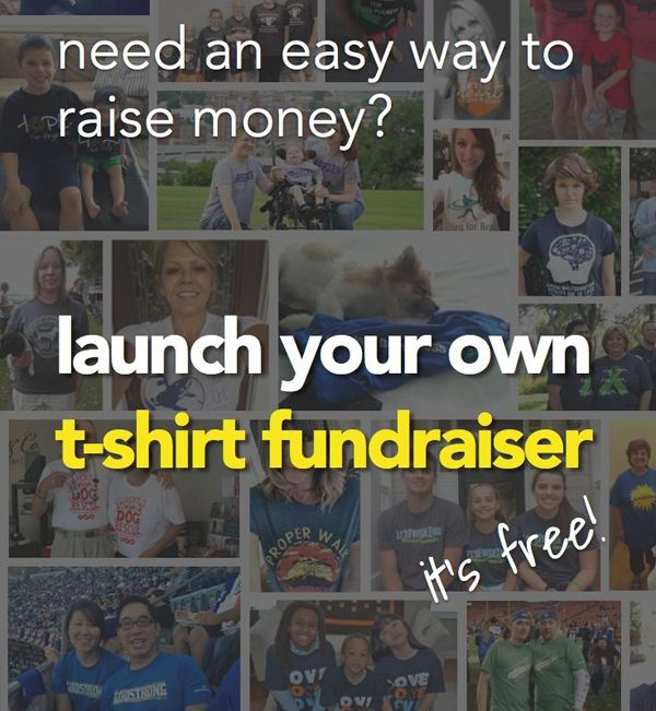 T shirt fundraisers are a brilliant way of fundraising while building a brand or creating awareness for your cause or organization...
