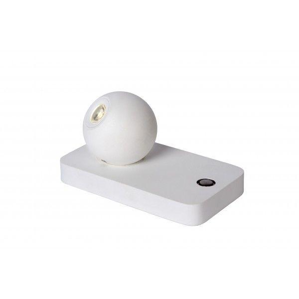 Oby H8 cm - Lucide - kolor biały