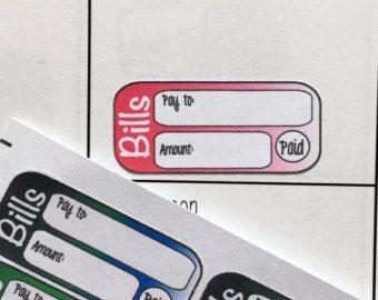 College Planner Stickers / Fits Erin Condren by GYSTPlanner