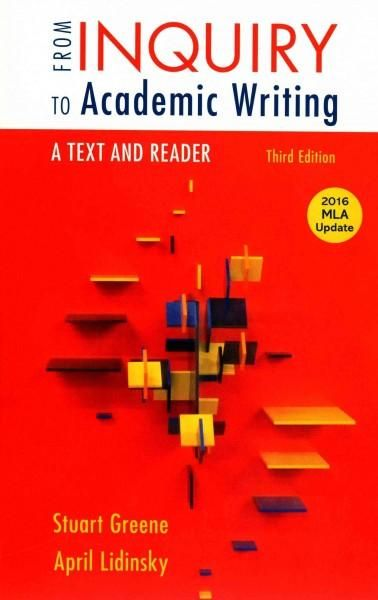 from inquiry to academic writing online Coupon: rent from inquiry to academic writing a text and reader 2nd edition (9780312601416) and save up to 80% on textbook rentals and 90% on used textbooks get free.