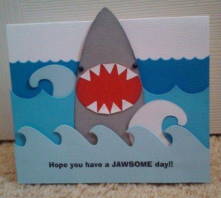 40 best shark birthday card ideas images on pinterest sharks wave and shark cutouts quickutz shark dies used surfboards pennants nesting bookmarktalkfo Gallery