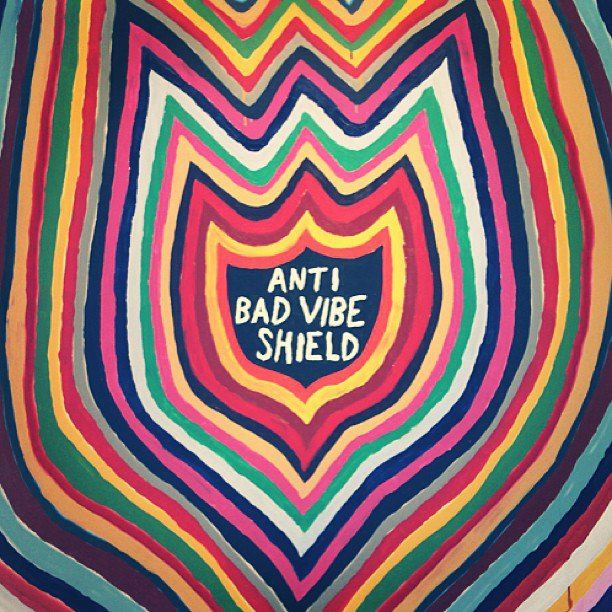 Anti Bad Vibe Shield via http://facebook.com/TheAestheticHigh