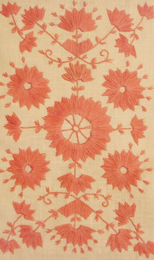 I love Helena's website and blog.  Heavenly Swedish embroidery.  Brodera Järvsösöm