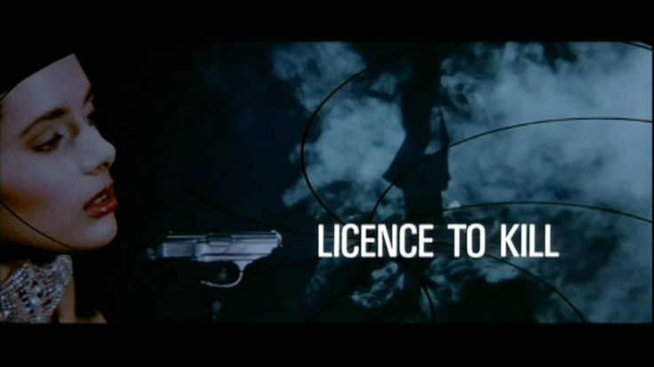 Licence to Kill [1989] Gladys Knight | opening title sequence HD