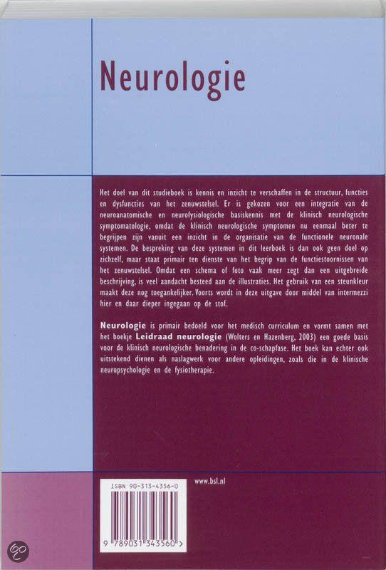bol.com | Neurologie, E.Ch. Wolters & H.J. Groenewegen | 9789031343560 | Boeken / Wil je dit boek in één uur kunnen uitlezen in volle concentratie met meer tekstbegrip? Ik kan je helpen, surf naar http://peterplusquin.be/word-expert-in-drie-dagen-via-de-smartreading-snelleesmethode/ #smartreading #snellezen