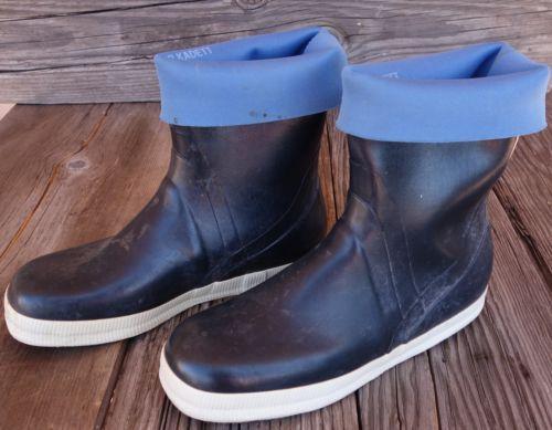 Men 39 s viking harvik rubber fishing boots mariner kadett for Rubber fishing boots