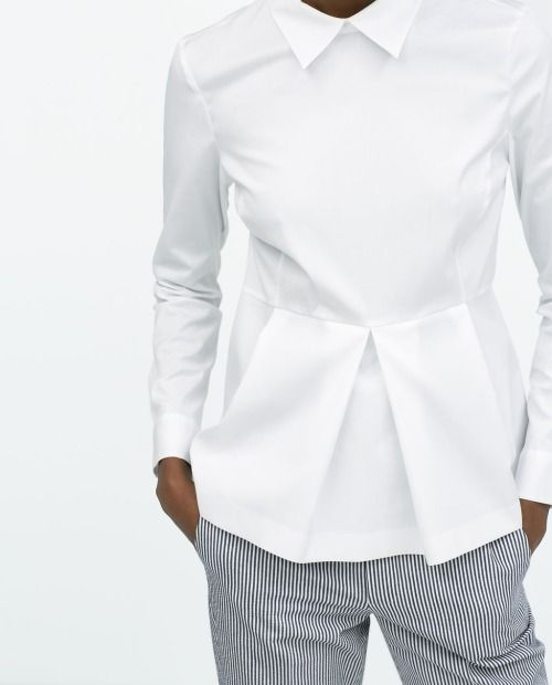 2015 Need a white shirt like this in my closet