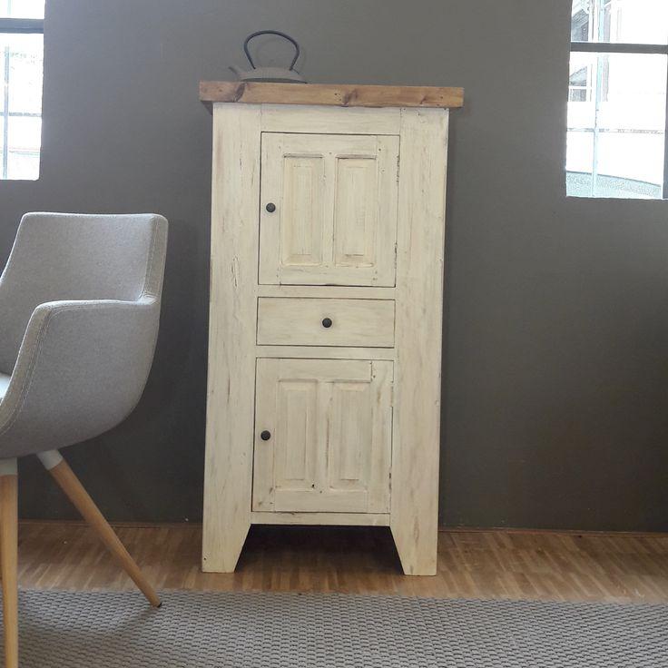 Marvelous Kleiner Schrank aus recycled Wood Shabby Collection Bauholzschrank aus altem Holz