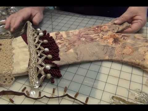 HOW TO MAKE MAMGRANNY'S VICTORIAN CHRISTMAS STOCKING