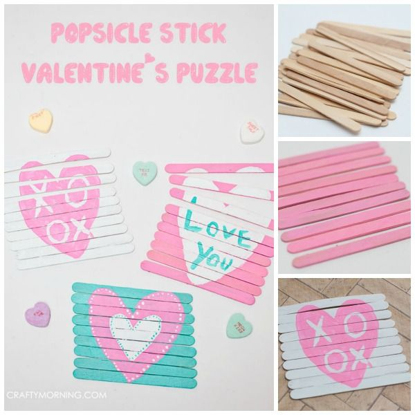 Looking for a fun craft to do with the kids this Valentine's? I'm always on the lookout for new craft ideas.  I recently seen a craft stick puzzle and I loved it. I knew right away that my boys would love it too! But I wanted to make my own version and have the boys …