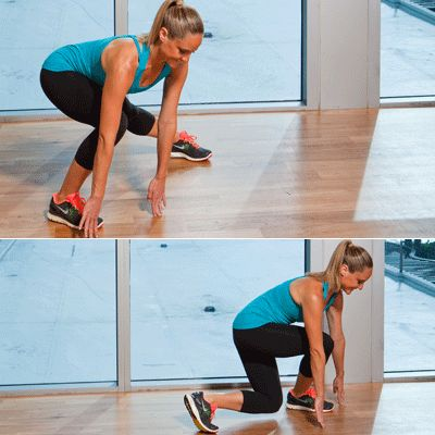 Top 10 Moves to Tone Your Trouble Zones  Need to get rid of saddlebags, arm flab, or a muffin top? Use these moves to fight flab at home—and win!
