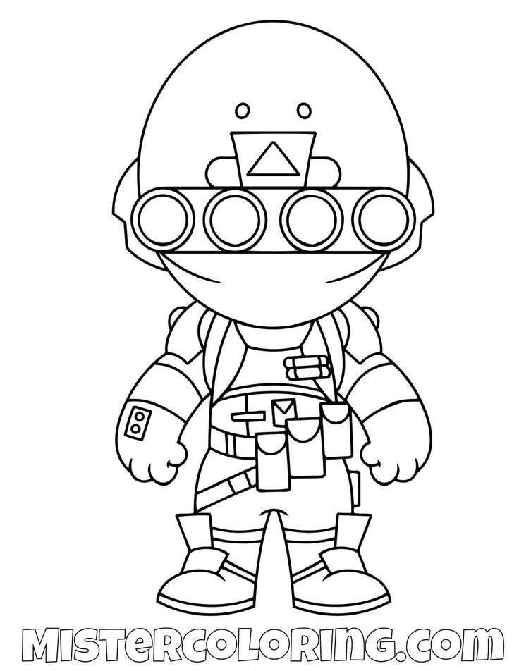 Free Insight Chibi Skin Fortnite Coloring Page For Kids