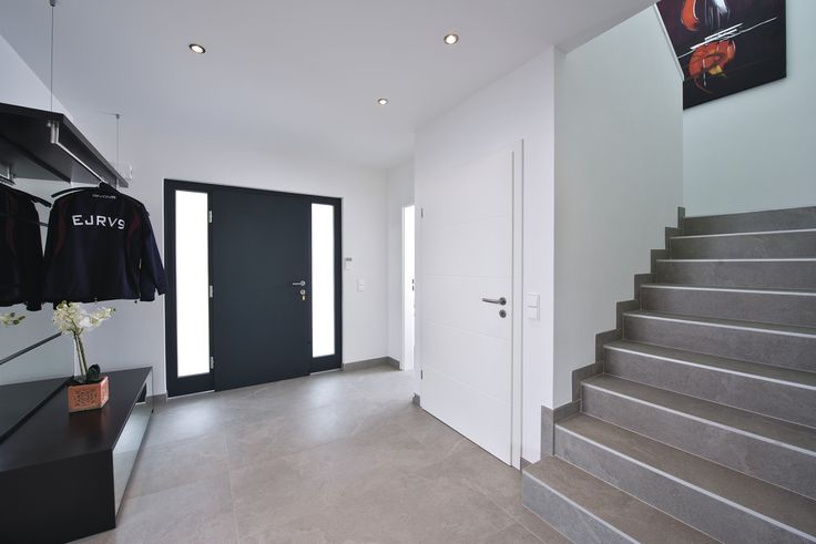 haust r eingang treppe frontdoor entrance staircase. Black Bedroom Furniture Sets. Home Design Ideas