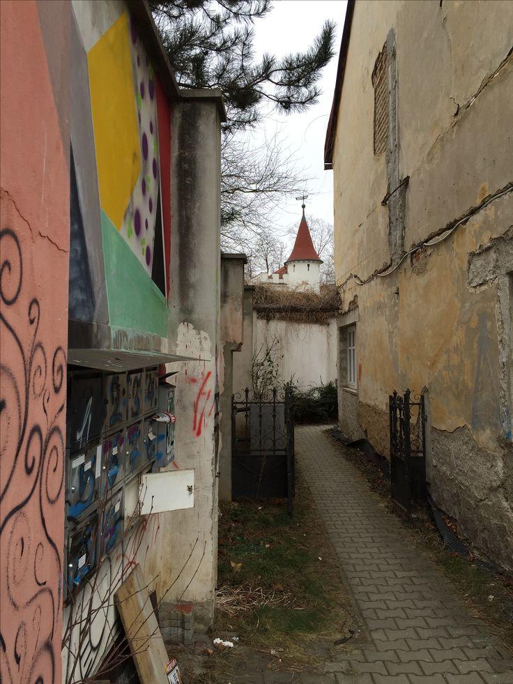 Prague's secret domain. Prague-Bubenec.