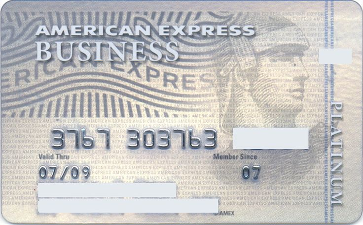 American Express BUSINESS Platinum (American Express, United States of America) Col:US-AE-0120