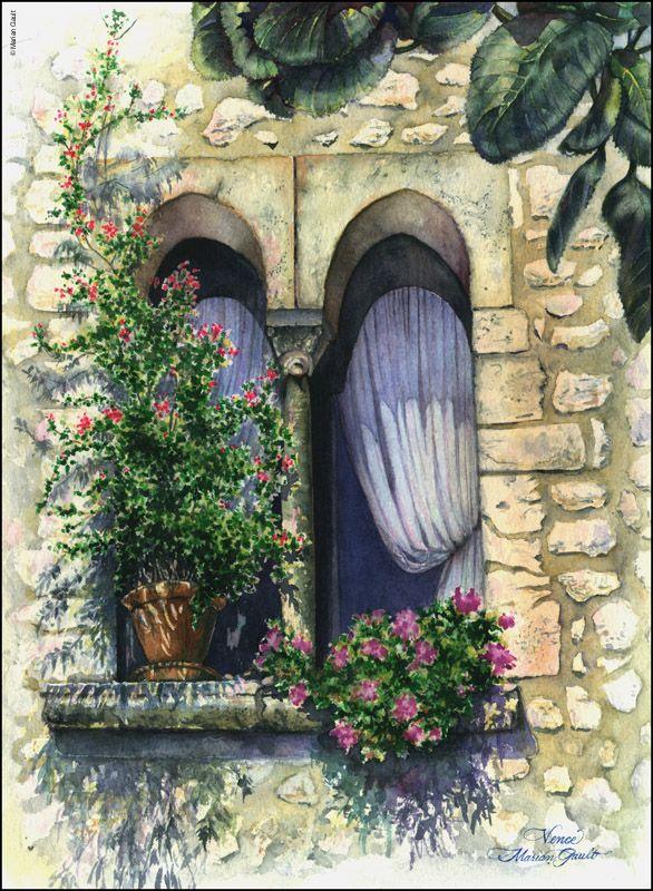 Marian Gault       Watercolor