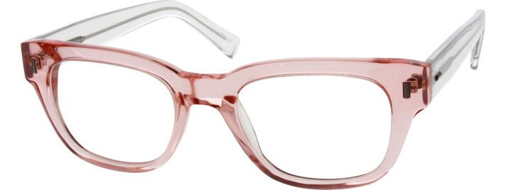 womens translucent square eyeglasses 300119 models eyeglasses and sunglasses