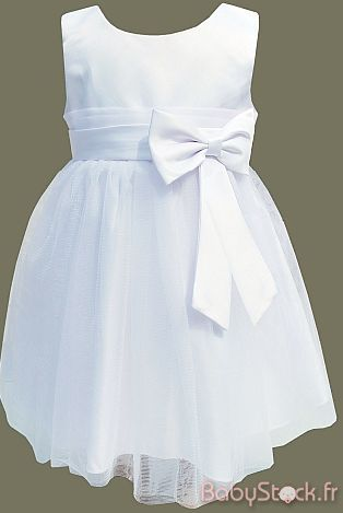 robe baptême