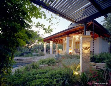 Exterior Photos Pool Landscape Design Ideas, Pictures, Remodel, and Decor - page 3