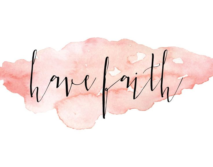 Have Faith Faith tells me that no matter what lies ahead, God is already there. He is already working everything out for the good... so why let worry flood your mind. All you need to focus on is having faith because He's got this! #havefaith