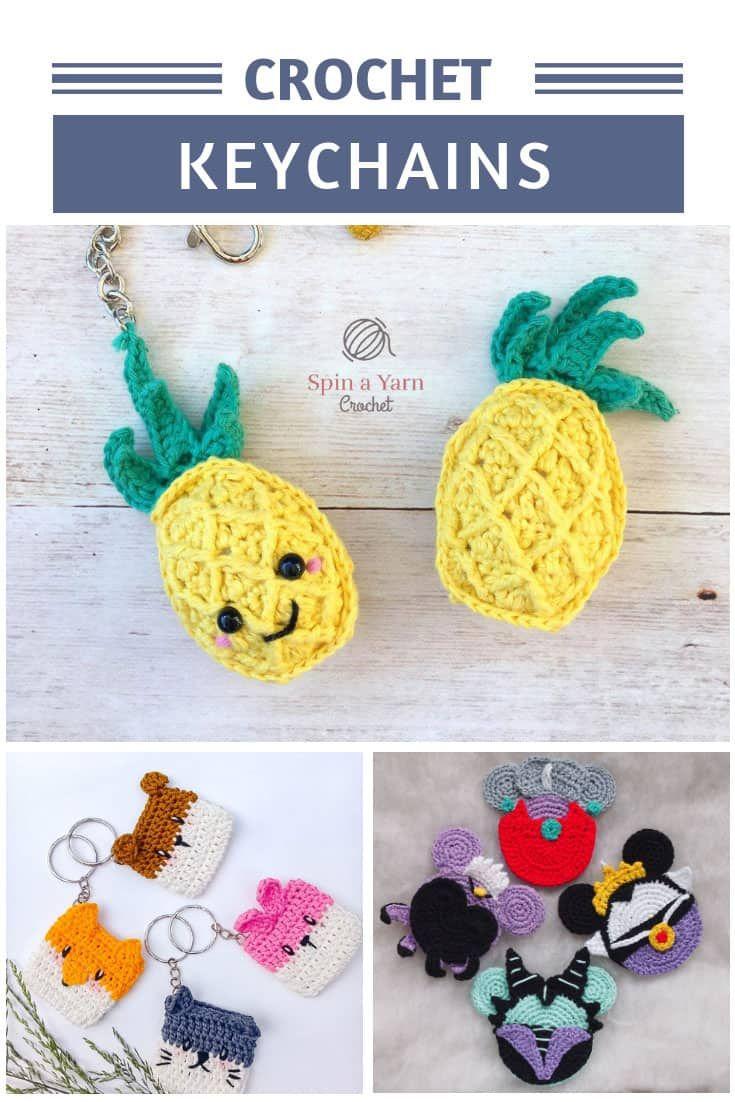 Crochet Dumpling Keychain Accessory Pattern – SheepShaved | 1102x735