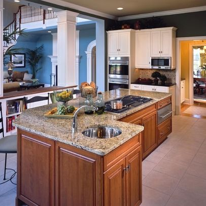 range in island kitchen 17 best images about kitchen island with cooktop on 21415