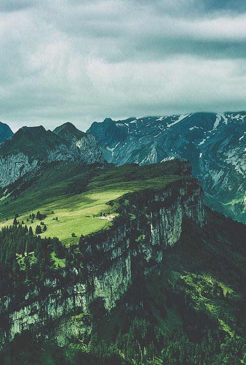 Appenzell Alps, Switzerland.