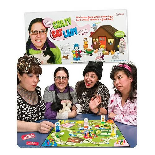 Crazy Cat Lady Board Game -- Must have this! :'D