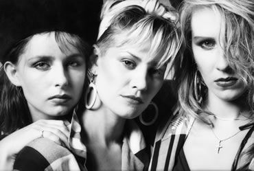 Keren Woodward, Siobhan Fahey and Sara Dallin in 1984.