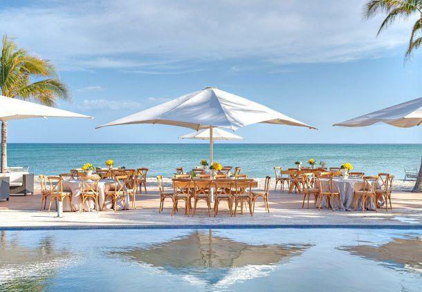 The El Faro Beachclub - amazing wedding venue.http://bit.ly/1YbAy5W #lizmoorepanamaweddings @jwmariottpanam