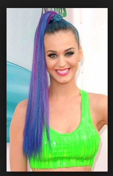 Cool gekleurd haar
