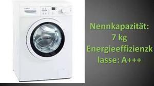 Bosch WAQ28321 Waschmaschine Test 2014