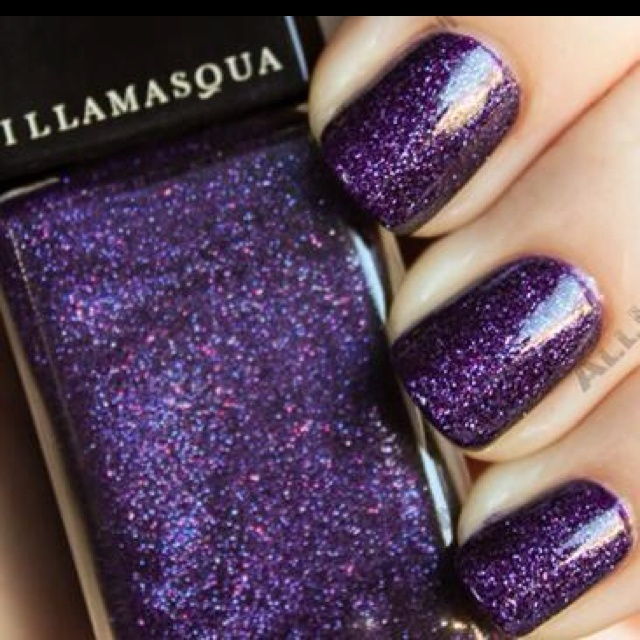 Purple Glitter Nails...love it!!: Colors Purple, Nails Care, Purple Glitter Nails, Hair Makeup Nails, Beautiful, Purple Sparkle, Nails Polish, Nails 3, Purple Nails Prom
